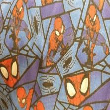 Algodón estampado de Spider-Man