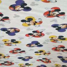 Algodón estampado de Mickey...