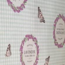 Algodón estampado de Lavender