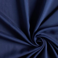 Poliéster viscosa azul marino