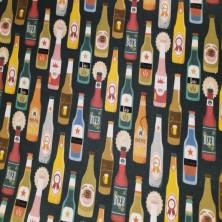 Algodón estampado de Cervezas